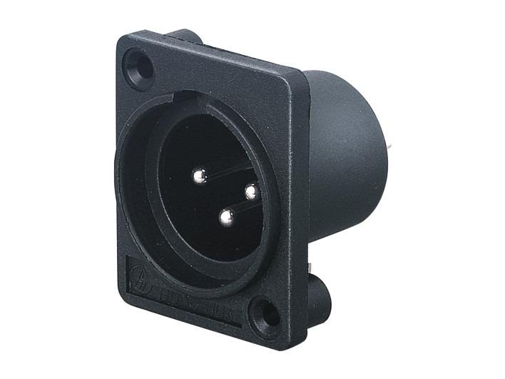 XLR卡侬公插座SPM-01F