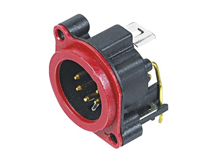 XLR卡侬公插座SPM5-23-R