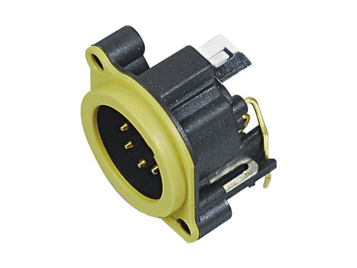 XLR卡侬公插座SPM5-23-Y