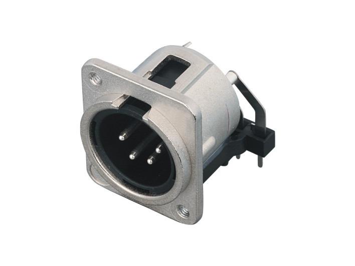 XLR卡侬公插座SPM4-31A