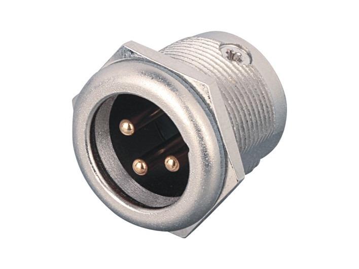 XLR卡侬公插座SPM-32