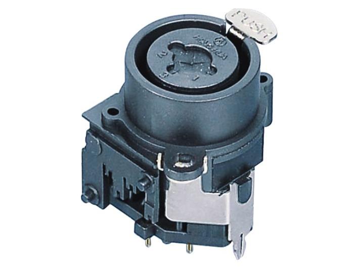 XLR卡侬组合插座SPC-06A