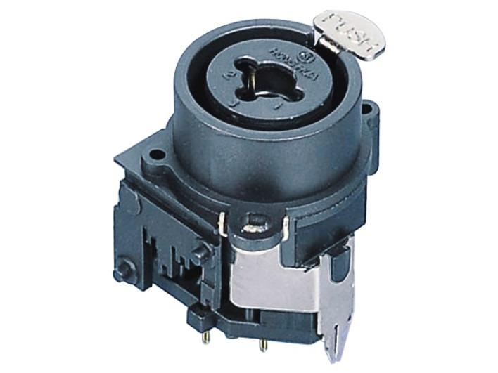 XLR卡侬组合插座SPC-06B