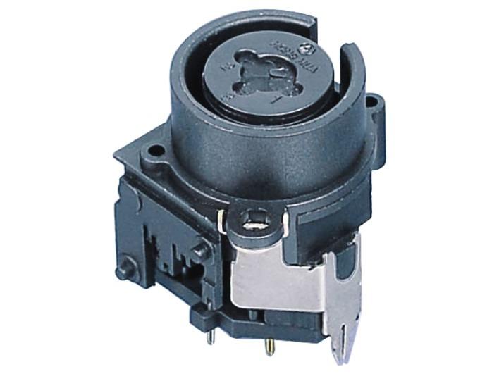 XLR卡侬组合插座SPC-06C
