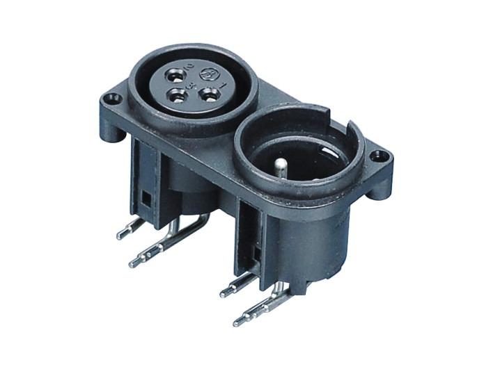 XLR卡侬组合插座SPC-10