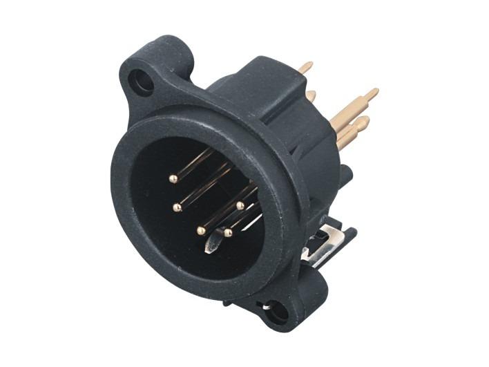 XLR卡侬公插座SPM5-22