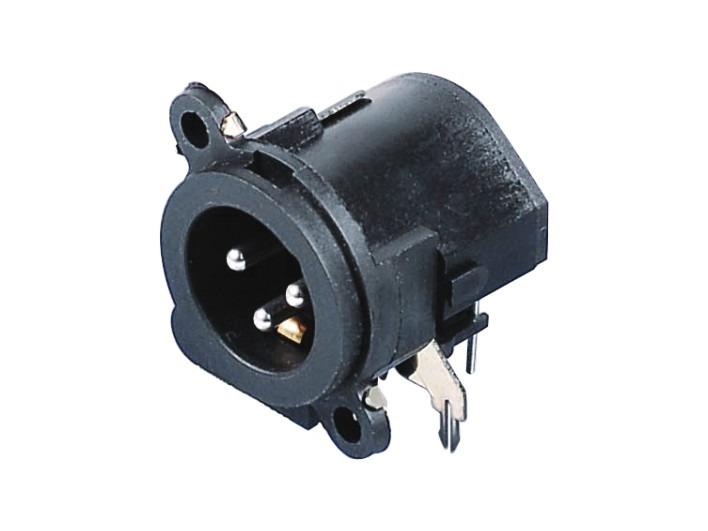 XLR卡侬公插座SPM-18