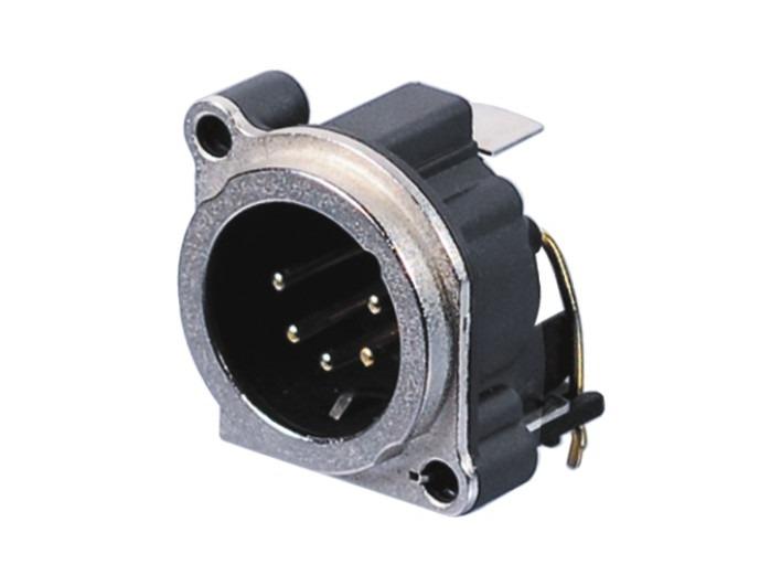 XLR卡侬公插座SPM5-23A