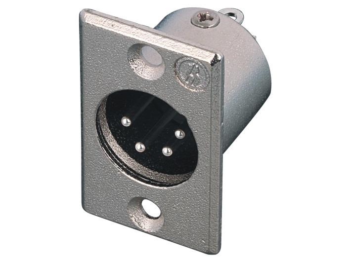 XLR卡侬公插座SPM4-20