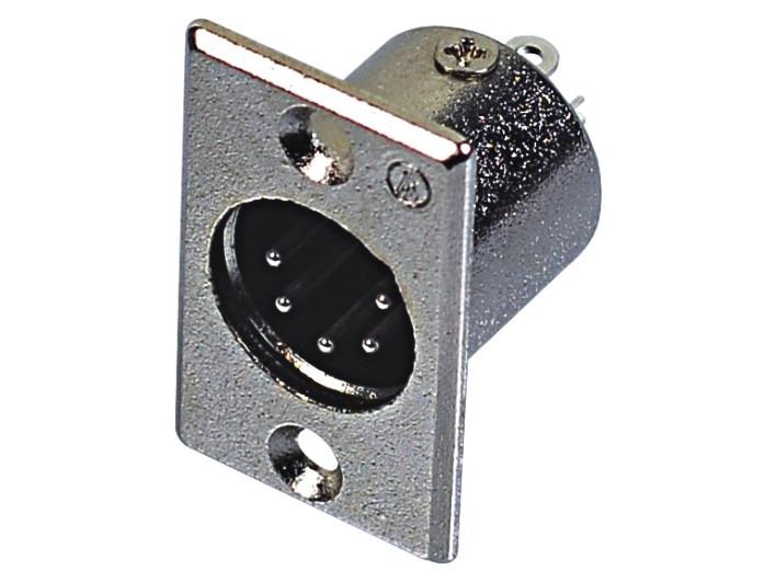 XLR卡侬公插座SPM5-20