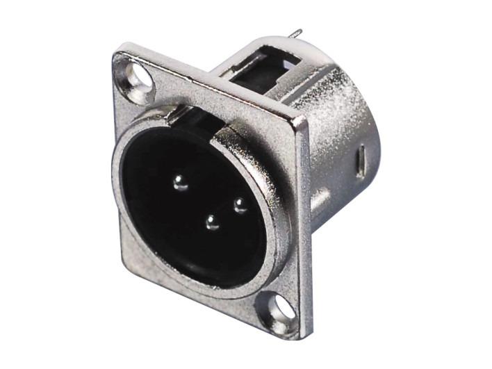 XLR卡侬公插座SPM-21