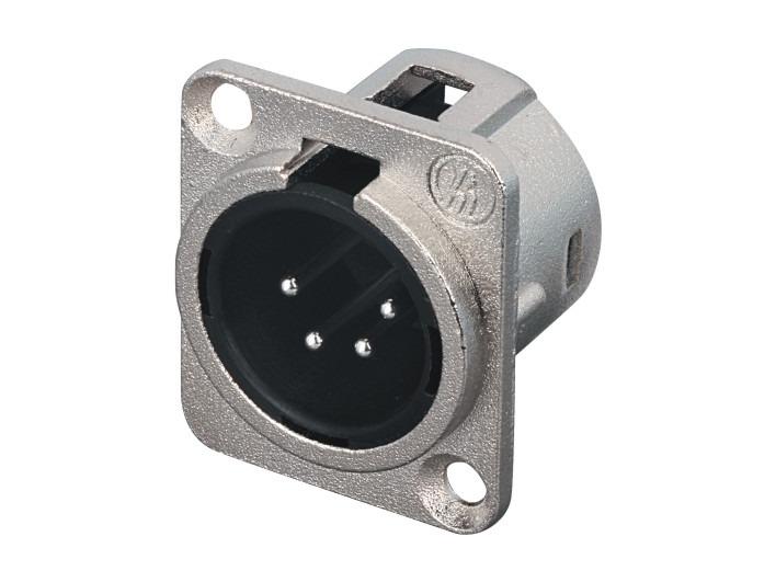 XLR卡侬公插座SPM4-21