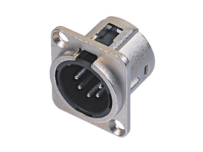 XLR卡侬公插座SPM5-21