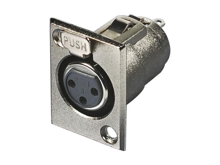 XLR卡侬母插座SPF-13