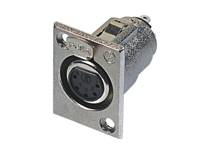 XLR卡侬母插座SPF5-13