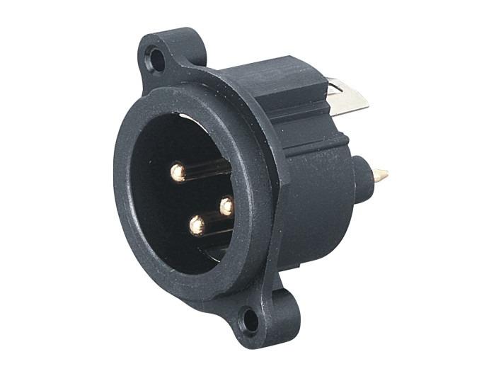 XLR卡侬公插座SPM-06K