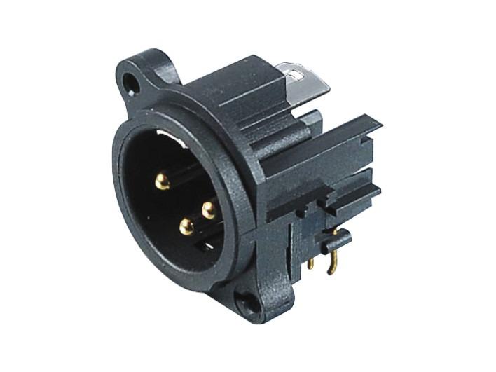 XLR卡侬公插座SPM-08