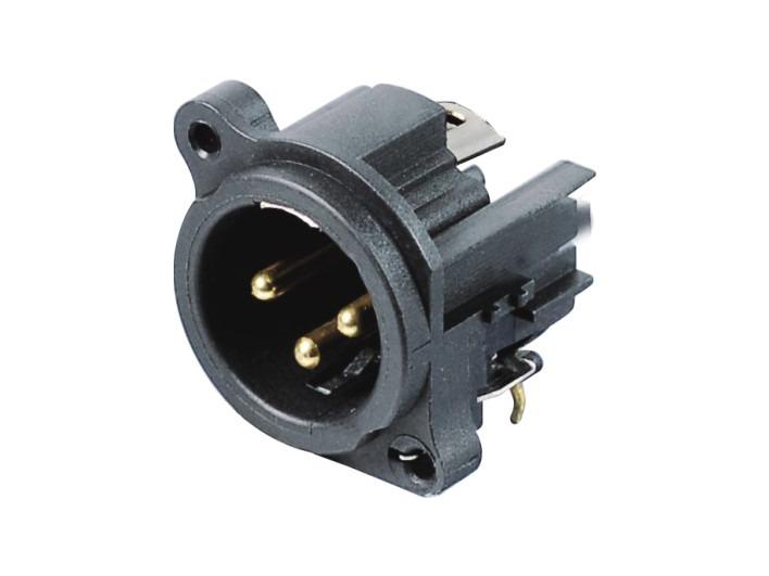 XLR卡侬公插座SPM-08G