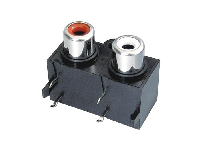 AV同芯插座RCA-214-FB