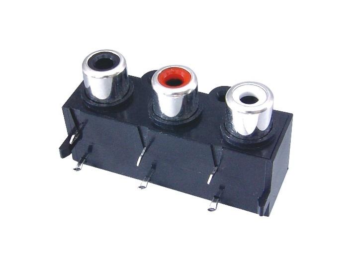 AV同芯插座RCA-314-FB