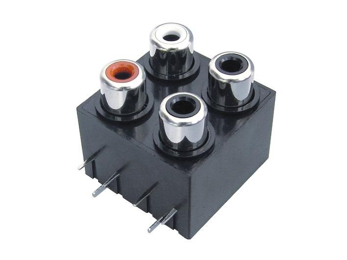 AV同芯插座RCA-407-FB
