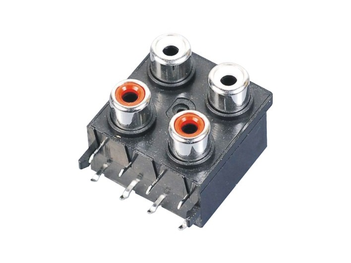 AV同芯插座RCA-413A-FB