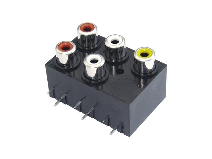 AV同芯插座RCA-507-FB