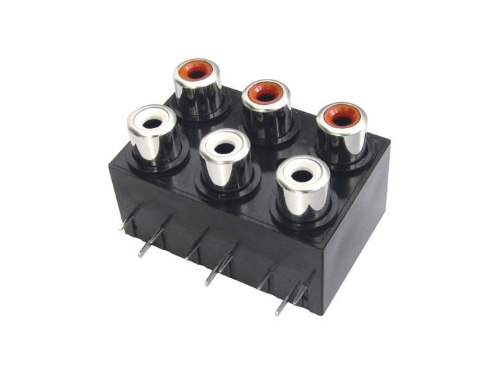 AV同芯插座RCA-607-FB