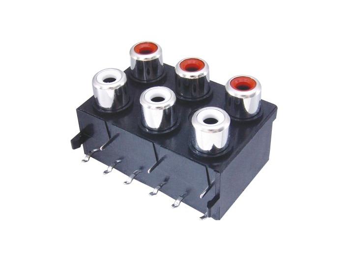 AV同芯插座RCA-613-FB