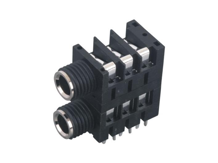 6.35话筒插座SJ-6357D-2A