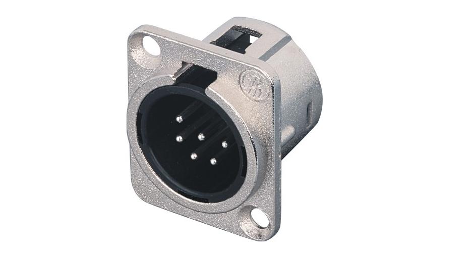 XLR卡侬公插座SPM6-21