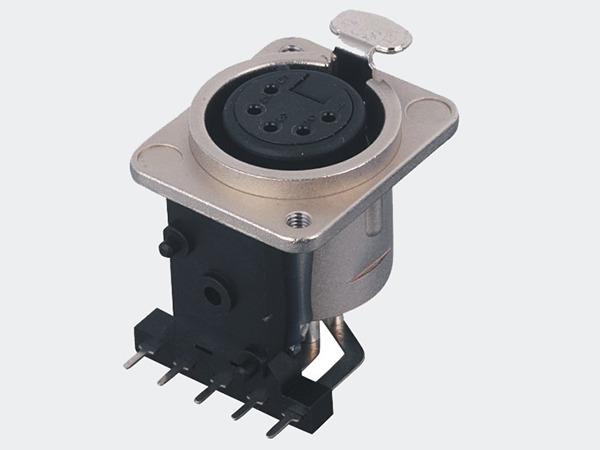 XLR卡侬母插座SPF5-31A