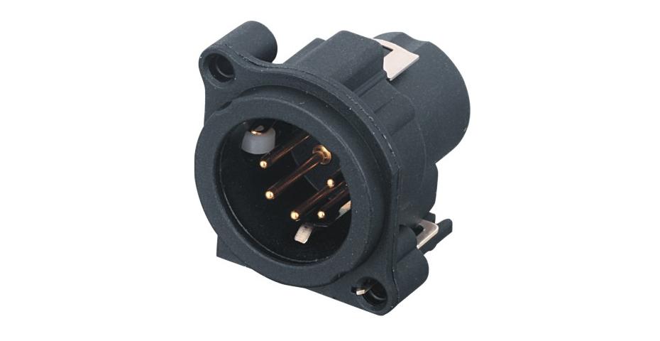 XLR卡侬公插座SPM5-30