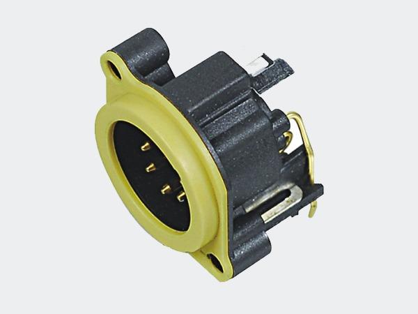 XLR卡侬公插座SPM5-23Y
