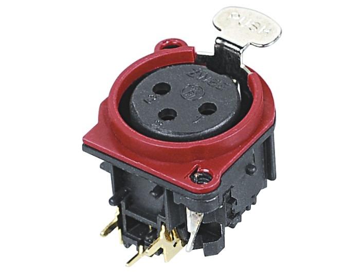 XLR卡侬母插座SPF-24-R