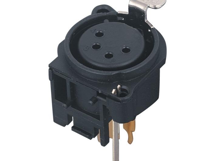 XLR卡侬母插座SPF4-24D