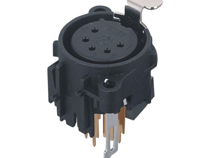 XLR卡侬母插座SPF5-22