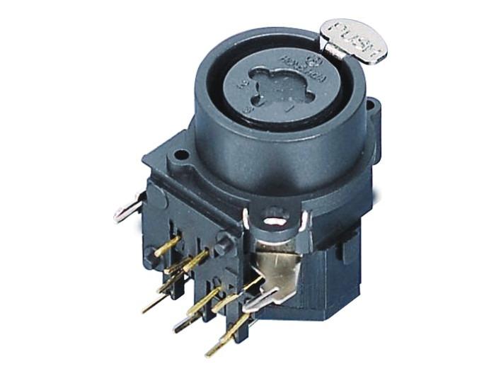 XLR卡侬组合插座SPC-03A
