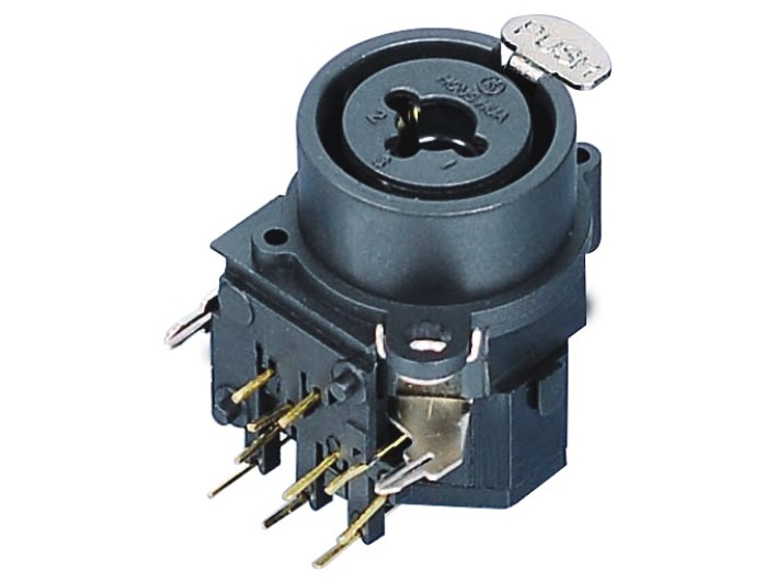 XLR卡侬组合插座SPC-03B
