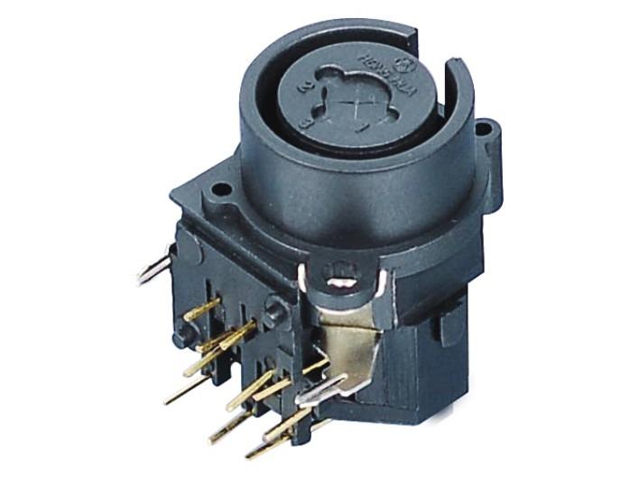 XLR卡侬组合插座SPC-03C