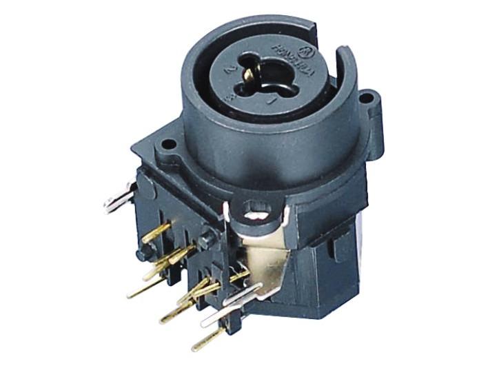 XLR卡侬组合插座SPC-03D