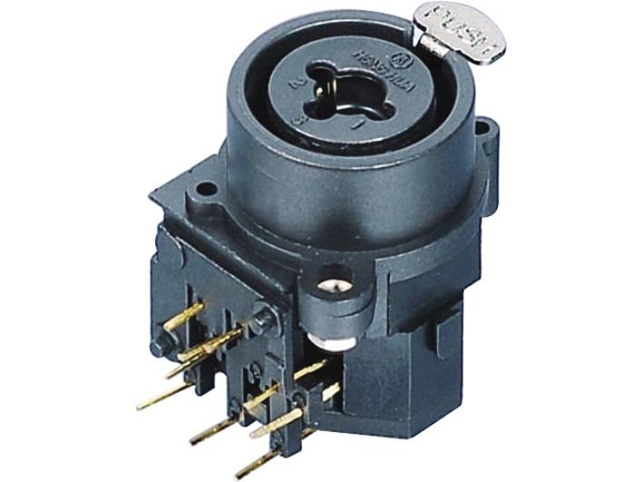 XLR卡侬组合插座SPC-04B