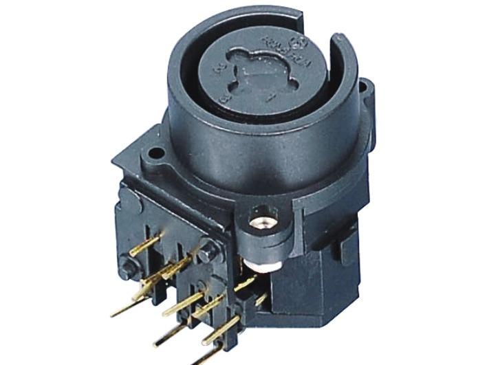 XLR卡侬组合插座SPC-04C