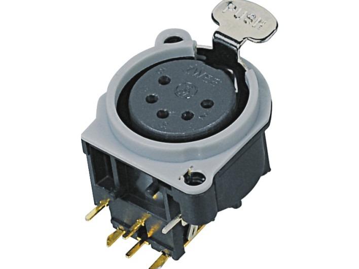 XLR卡侬母插座SPF5-24-GR