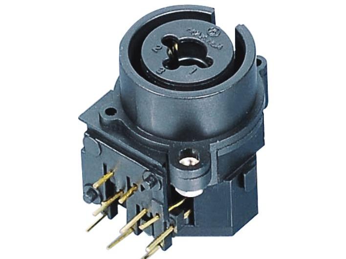 XLR卡侬组合插座SPC-04D