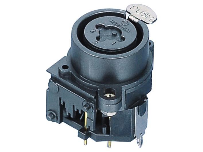 XLR卡侬组合插座SPC-05A