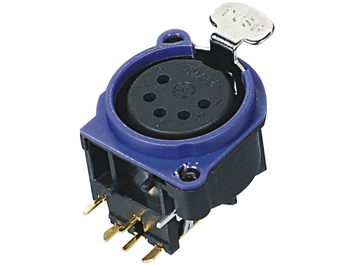 XLR卡侬母插座SPF5-24-P