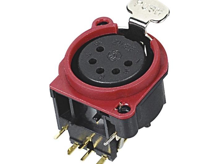 XLR卡侬母插座SPF5-24-R