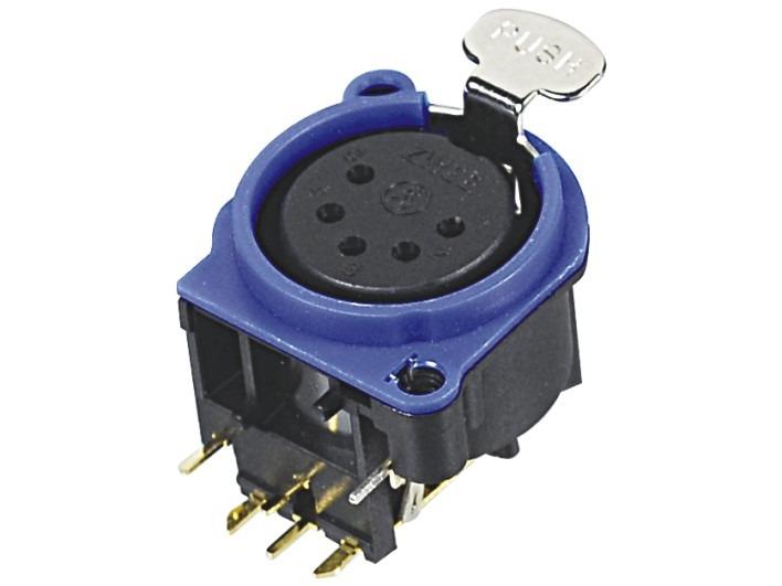 XLR卡侬母插座SPF5-24-B