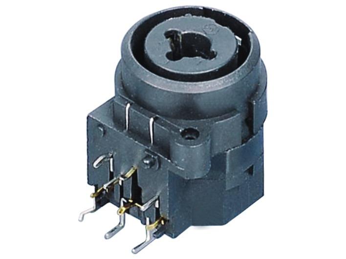 XLR卡侬组合插座SPC-16D